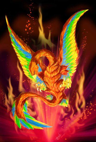Fenix criaturas mitologicas