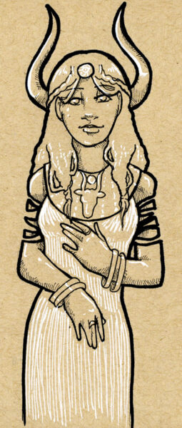 Hathor diosa egipcia