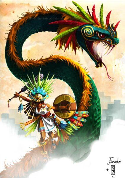 Mitologia maya quetzalcoatl
