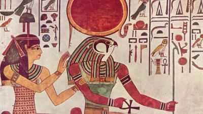 Dios Ra: deidad del Sol