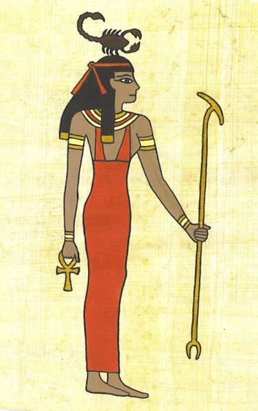 Diosa egipcia Serket