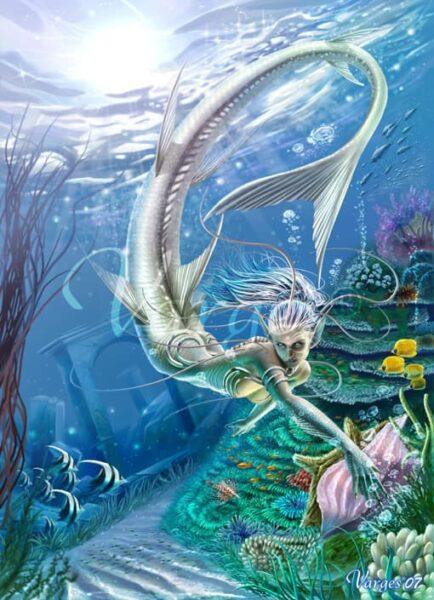 Sirena criaturas mitologicas