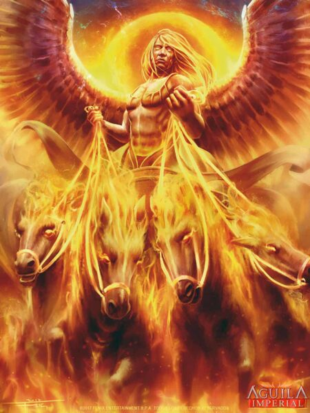 Sol invictus Dioses romanos