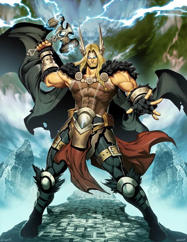 Dios nórdico Thor