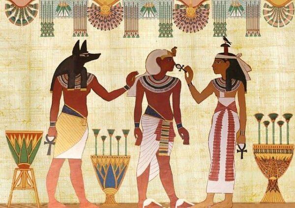 Ilustración egipcia
