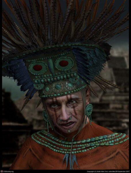 sacerdote azteca